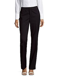 Saks Fifth Avenue Mid Rise Powerstretch Pants Black