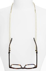 Women's Corinne Mccormack 'Pearls' Eyewear Chain Nordstrom Exclusive