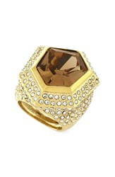 Women's Vince Camuto Asymmetrical Stone Cocktail Ring