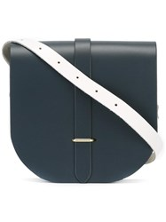 The Cambridge Satchel Company Small Saddle Bag Black