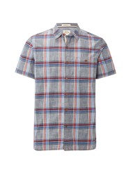White Stuff Men's Tomahawk Ss Shirt Multi Coloured Multi Coloured