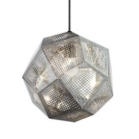 Tom Dixon Etch Pendant Light Steel