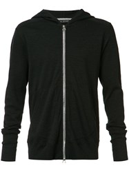Wings Horns Zipped Hoody Black