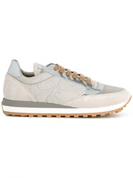 Brunello Cucinelli Lace Up Sneakers Grey