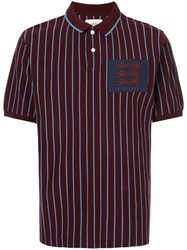 Kent And Curwen Mccabe Polo Shirt Red