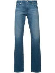 Ag Jeans Graduate Fit Men Cotton 38 Blue
