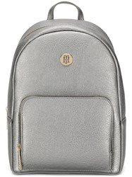 Tommy Hilfiger The Core Small Backpack Silver