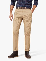 Joules Laundered Slim Fit Chinos Light Brown