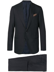 Caruso Formal Suit Blue