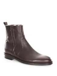 To Boot Sheldon Shearling Lined Boots Brown