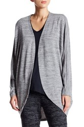 Joe Fresh Open Front Dolman Sleeve Cardigan Gray