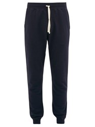Reigning Champ Loop Back Cotton Jersey Track Pants Navy