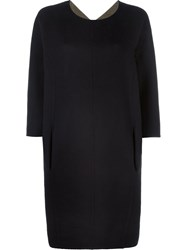 Maison Martin Margiela Classic Shift Dress Black