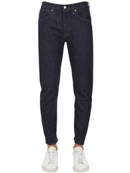 Levi's Tapered Leg Cotton Denim Jeans Dark Blue