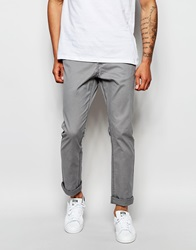 Only And Sons Chinos In Slim Fit Smokedgreypearl