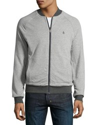 Original Penguin Long Sleeve Reversible Track Jacket Gray