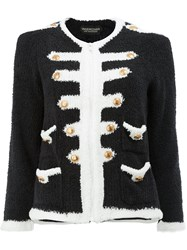 Undercover Knitted Military Jacket Women Polyester 2 Black