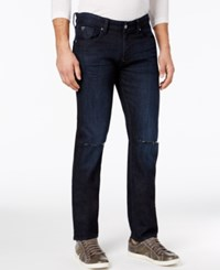 Guess Men's Slim Fit Straight Jeans Smokescreen