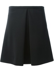 Sonia By Sonia Rykiel Inverted Pleat Mini Skirt Black