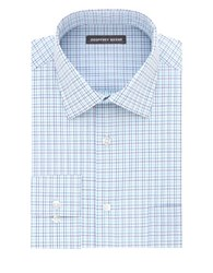 Geoffrey Beene Straight Fit Button Down Dress Shirt Lagoon