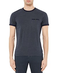 Ted Baker Cress Spotted Tee Navy