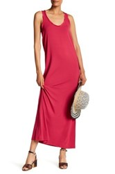Tommy Bahama Solid Racerback Maxi Dress Pink