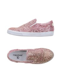 Happiness Footwear Low Tops And Trainers Women Pastel Pink