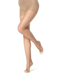 Berkshire Ultra Sheer Toeless Control Top Hosiery Fantasy Black