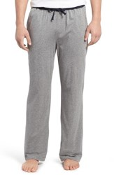 Daniel Buchler Men's Pima Cotton And Modal Lounge Pants Grey Heather