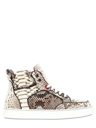 Royaums Limited Edition Python High Top Sneakers
