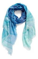 Nordstrom Women's Prismatic Color Play Cashmere And Silk Scarf
