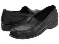 Hush Puppies Heaven Black Leather Women's Flat Shoes