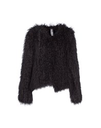 High Coats And Jackets Fur Outerwear Women