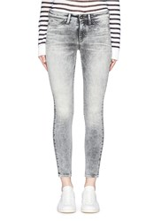 Denham Jeans 'Spray' Active Denim Skinny Pants Grey
