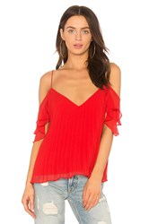 The Jetset Diaries Bellona Top Red
