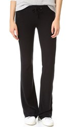 Wildfox Couture Basic Flare Sweatpants Jet Black
