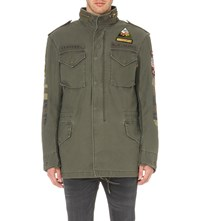 Alpha M 65 Cotton Jacket Olive