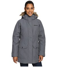 Marmot Geneva Jacket Steel Onyx Women's Coat Gray
