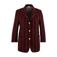 Thom Browne Wool Blazer Burgundy