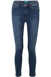 Mih Jeans M.I.H Bridge High Rise Skinny Mid Denim