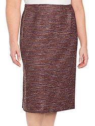 Lafayette 148 New York Priscilla Pull On Pencil Skirt Date Multi