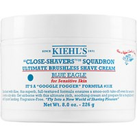 Kiehl's Since 1851 Men's Close Shavers Squadron Ultimate Brushless Shave Cream Blue Eagle No Color