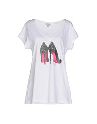 Guess Topwear T Shirts Women White
