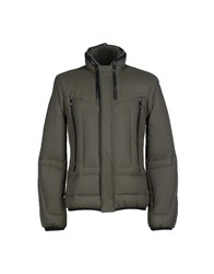 Dirk Bikkembergs Coats And Jackets Down Jackets Men Military Green