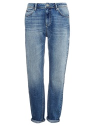 Whistles Light Wash Boyfriend Jeans Denim Light Wash