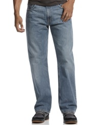 Levi's 569 Loose Straight Fit Rugged Wash Jeans