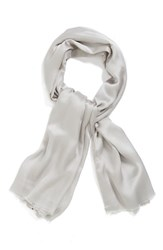 Women's Echo Hammered Silk And Rayon Wrap Grey