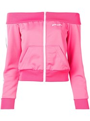 Palm Angels Bardot Track Jacket Pink