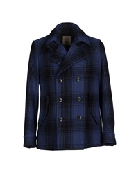 Siviglia Denim Coats Dark Blue
