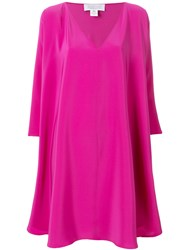Gianluca Capannolo Floaty Shift Dress Pink And Purple